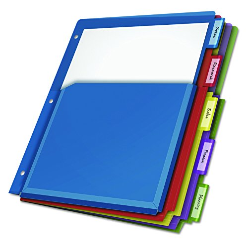 Case-it Open Tab Velcro Closure 2-Inch Binder With Tab