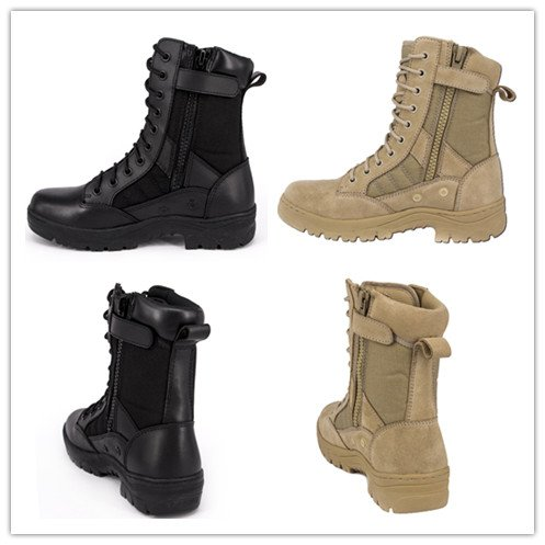 Ryno Gear Tactical Combat Boots with CoolMax Lining Beige – Arelaxo 95dfc45beec