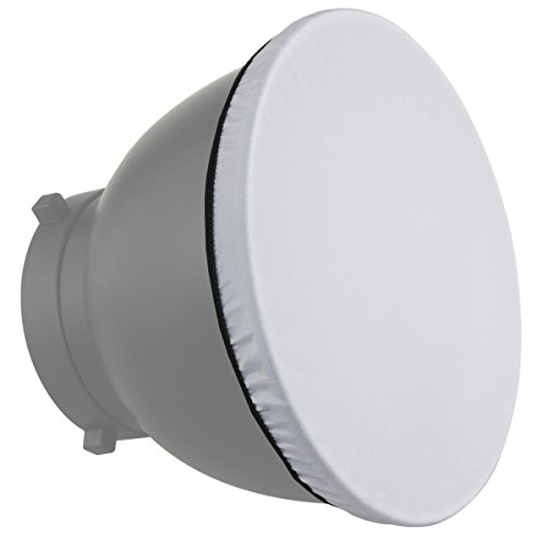Haoge 7 Standard Reflector Diffuser Lamp Shade Dish For: Haoge 7″ 180mm Soft White Diffuser Sock For Studio Strobe