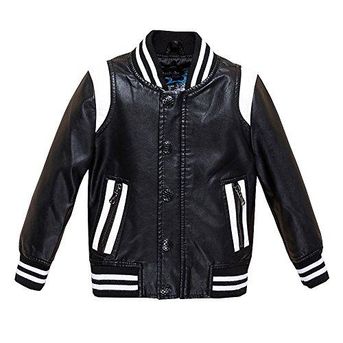 5993407f7a3e The Twins Dream Girls Leather Jacket Kids Leather Jackets Boys ...