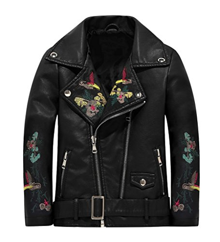 The Twins Dream Girls Leather Jacket Kids Leather Jackets Boys