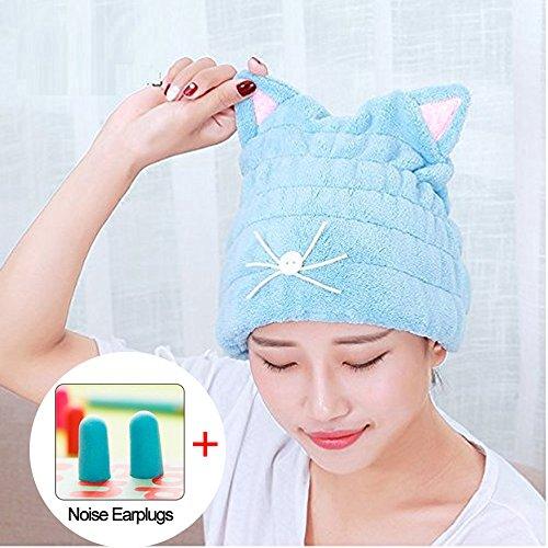 Hair Drying Towel For Kids Girls Cute Cartoon Rabbit Ultra