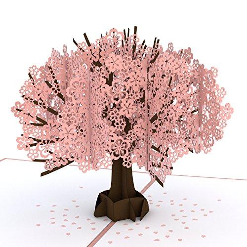 Lovepop Cherry Blossom Pop Up Card 3D Birthday Springtime Summertime