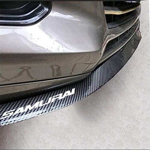 Adhesive and screws included in the pack quick and easy way to add a front bumper lip to virtually any car for an aggressive and lowered look Flexible and ...