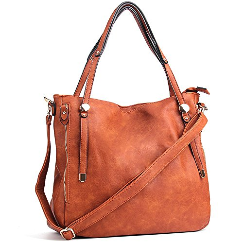 WISHESGEM Women Handbags Top-Handle Fashion Hobo Tote Bags PU ... 2246889f1b541