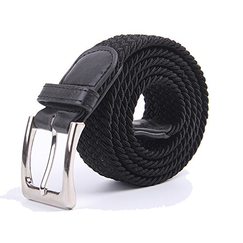 Choose between colors: black belt, navy Blue belt, Gray belt or Khaki; Deep solid colors easily match for golf pants, brown belt, jeans and business casual ...